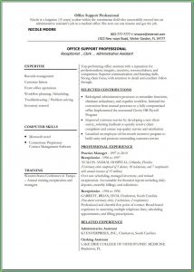 Teacher Resume Template Microsoft Word Free