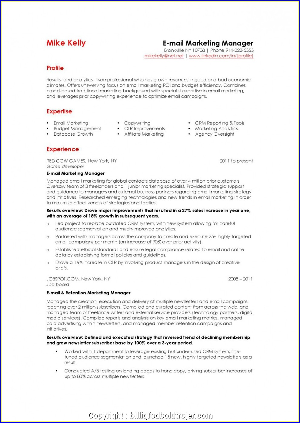 Warehouse Manager Resume Sample Pdf