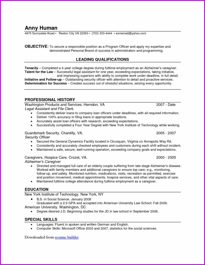 Where To Get A Resume Done Professionally Near Me