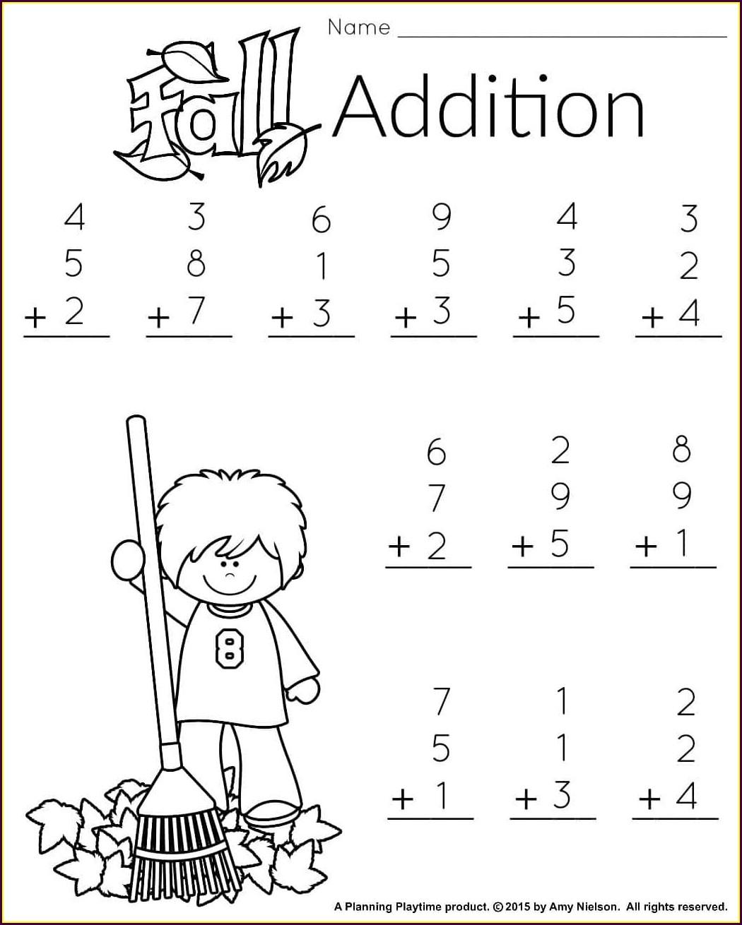1st Grade First Grade Math Worksheets