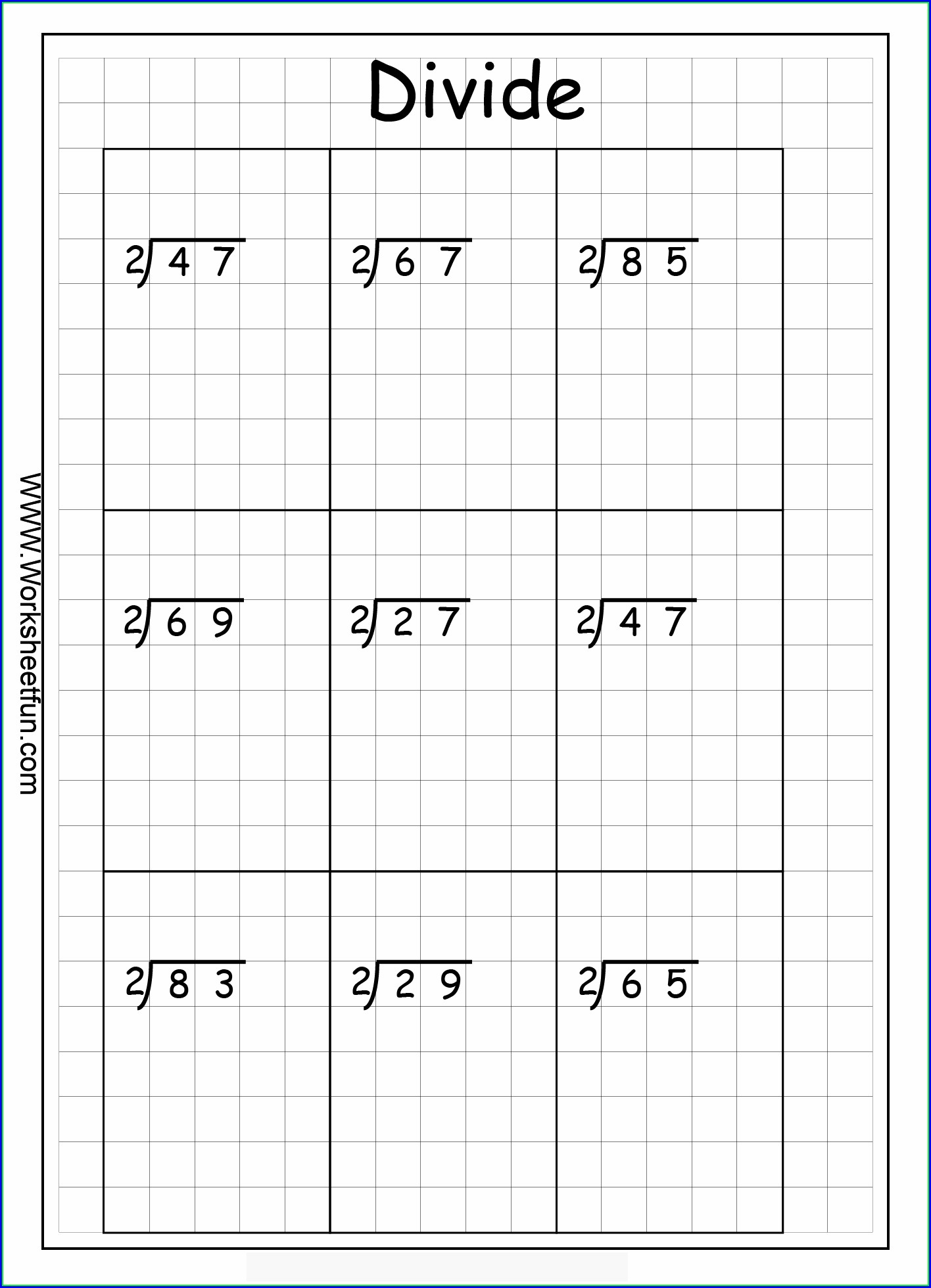 2 Digit Multiplication Without Regrouping Worksheets
