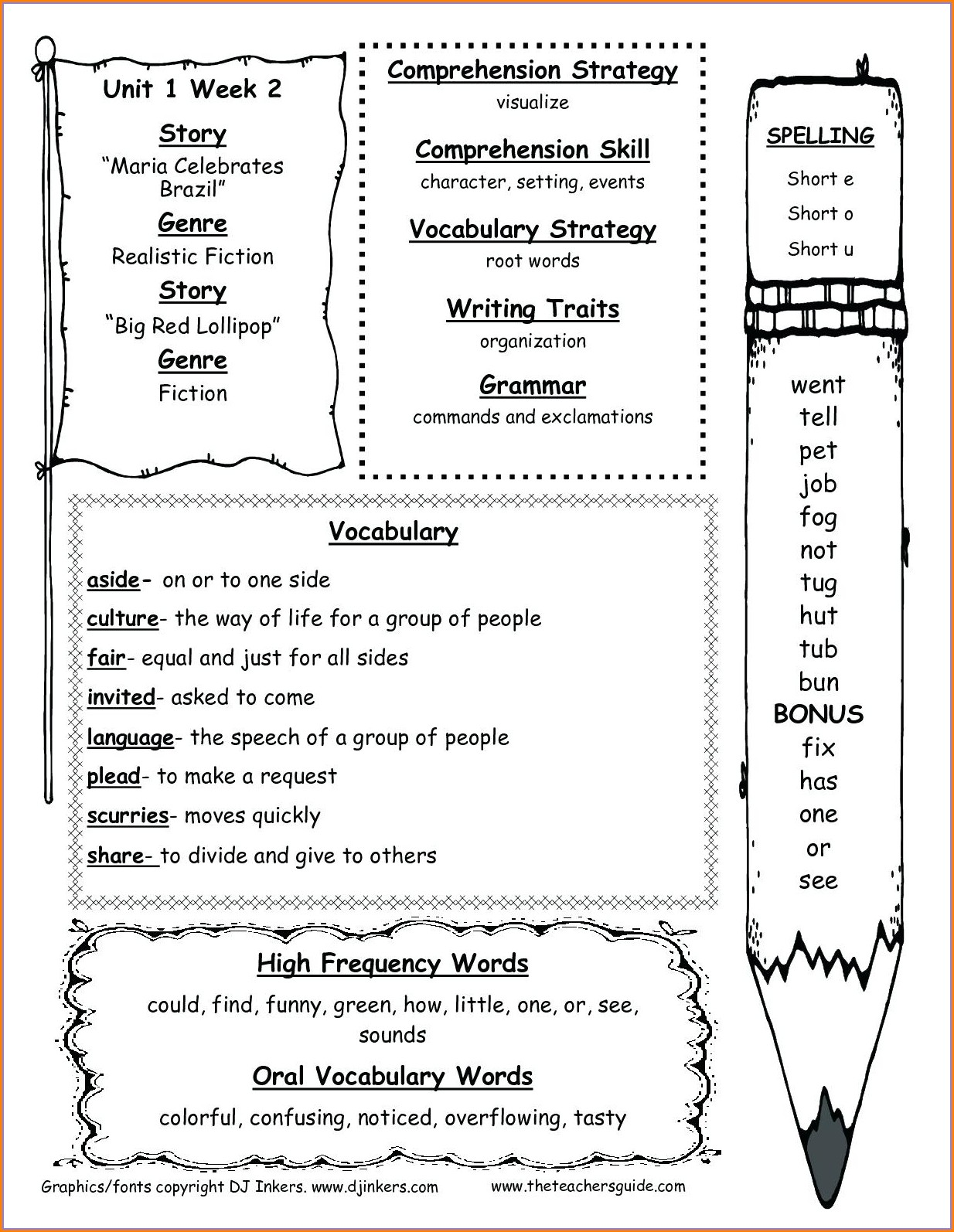 2nd Grade Cardinal Directions Worksheet