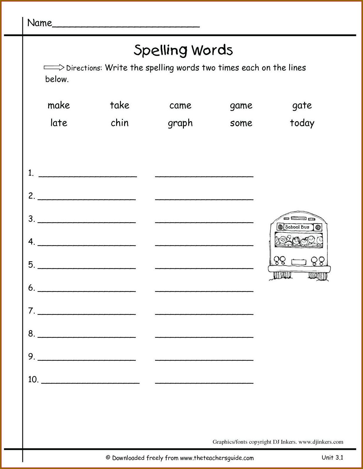 2nd Grade Comma Worksheet