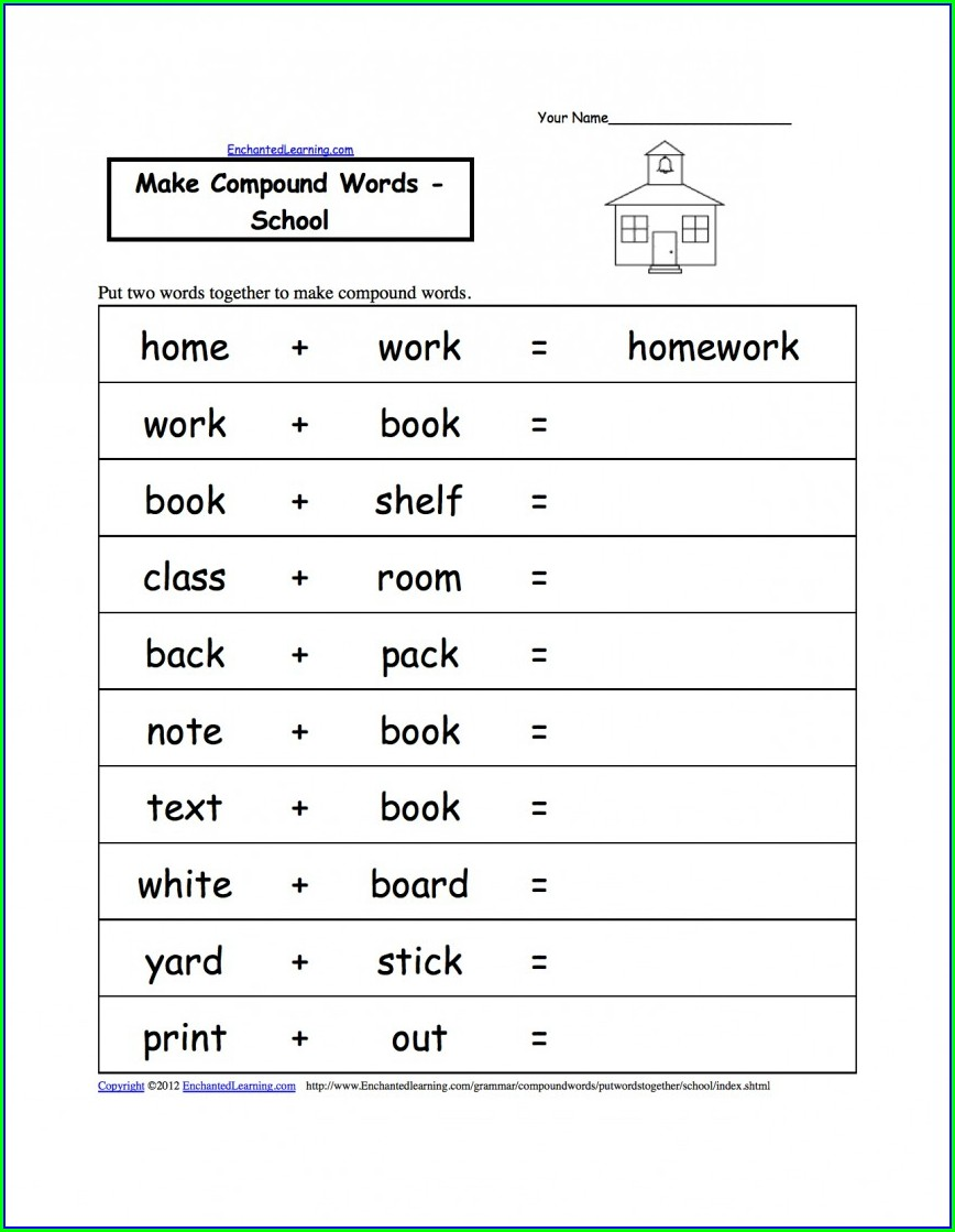 2nd Grade English Worksheets For Kids