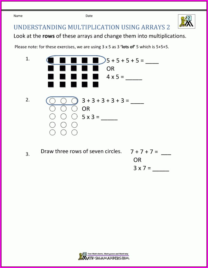2nd Grade Math Money Word Problems Worksheets Free