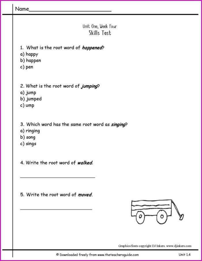 2nd Grade Number Sequence Worksheets
