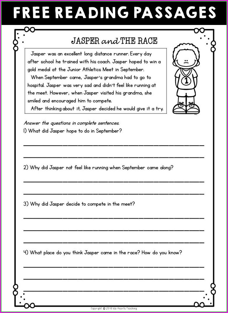 2nd Grade Worksheets For Social Studies