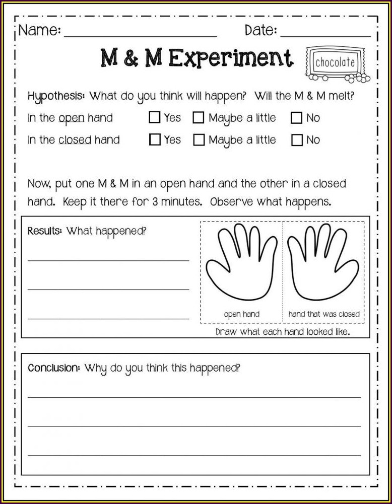 2nd Grade Worksheets Science