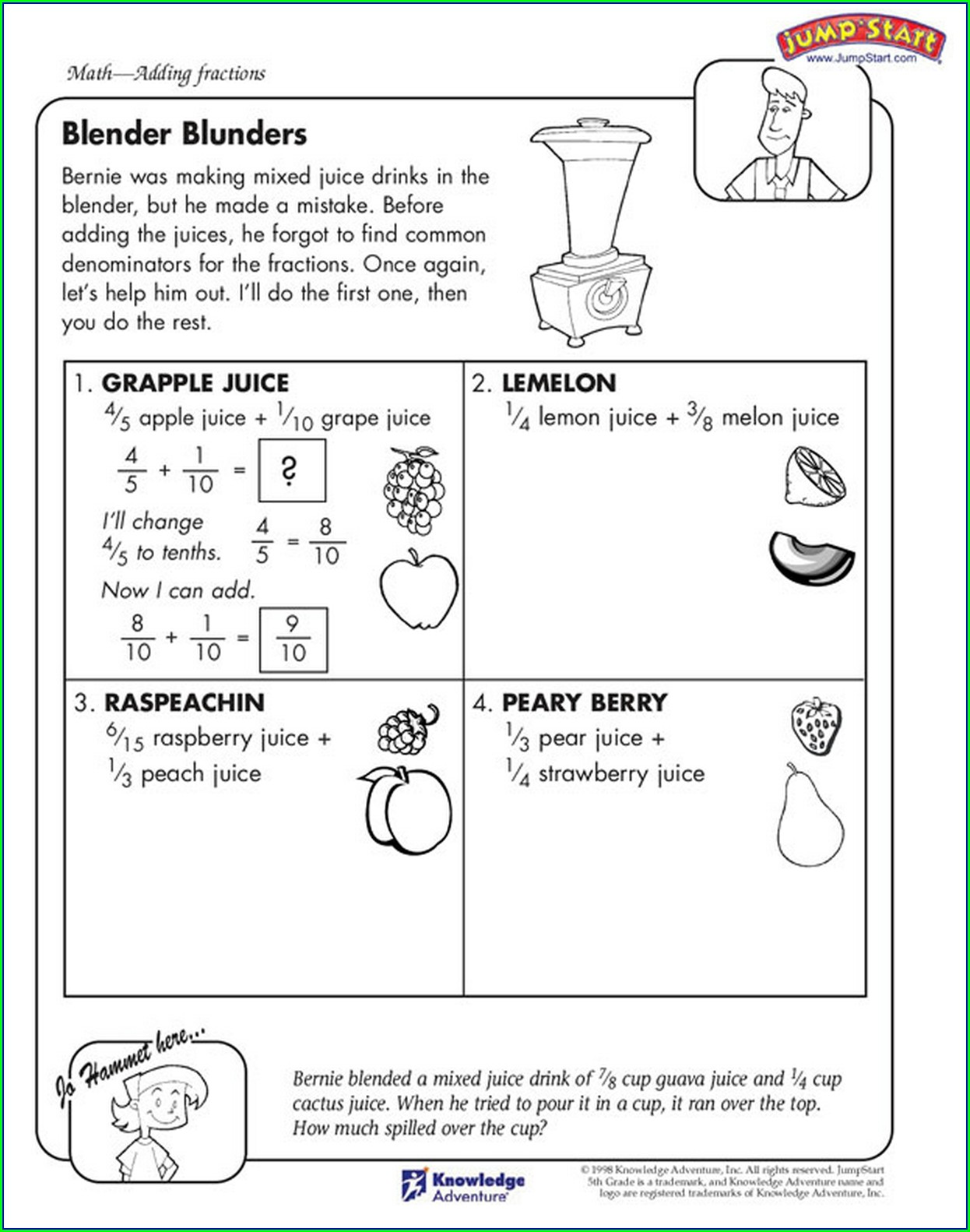 5th Grade Homeschool Math Worksheets