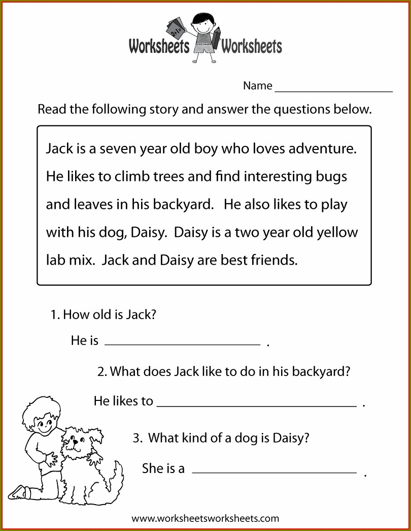 5th Grade Reading Worksheets For Free