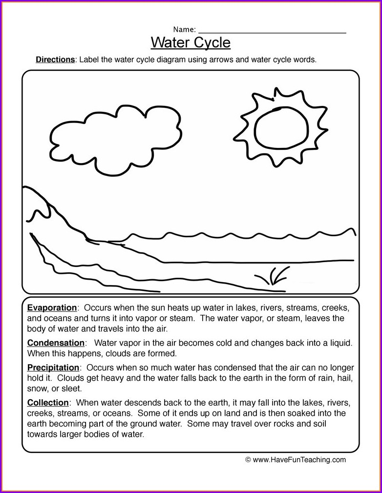5th Grade Science Weather Worksheets
