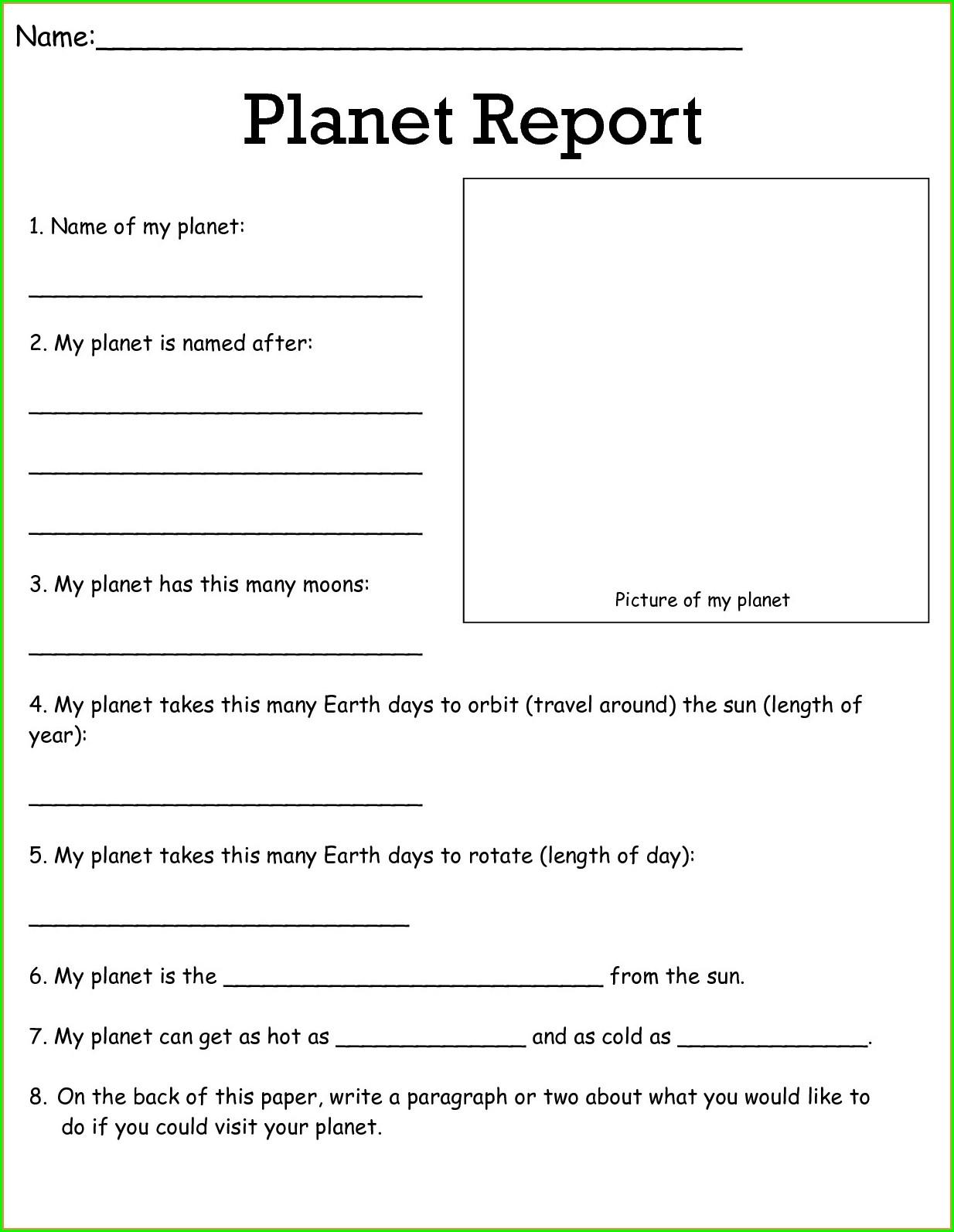 5th Grade Science Worksheets Free Printable