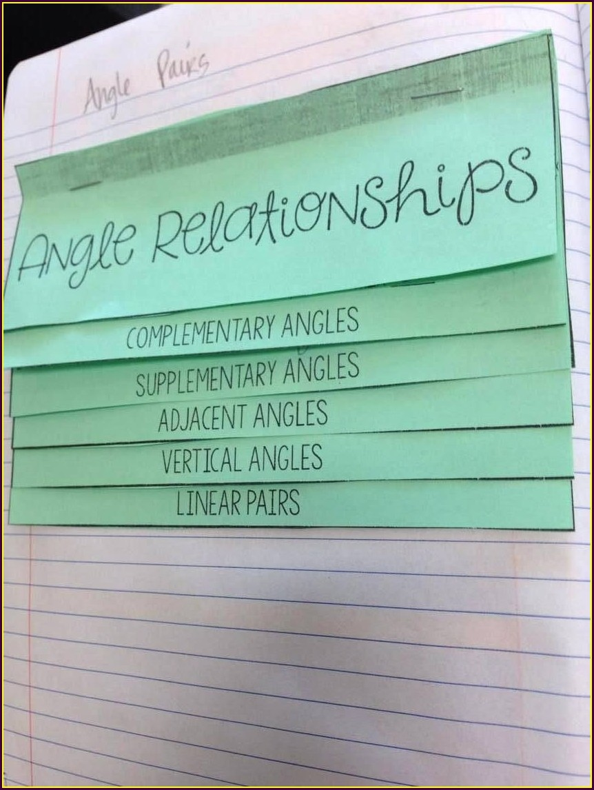 8th Grade Math Angles Worksheets
