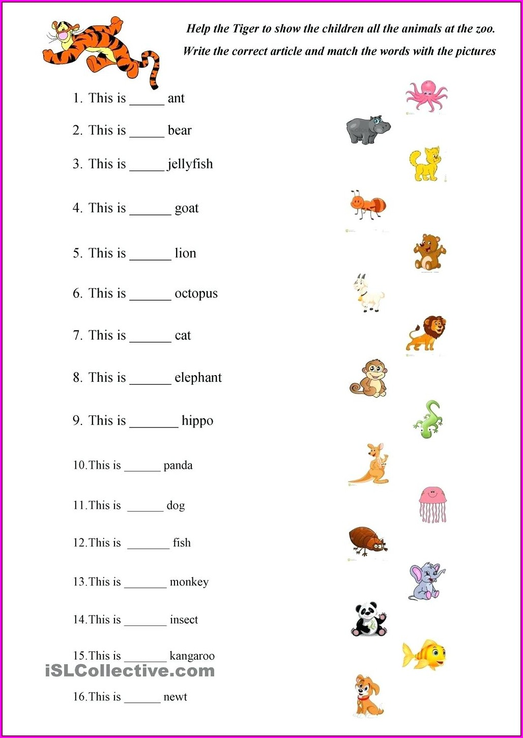 Abc Writing Worksheet For Kindergarten