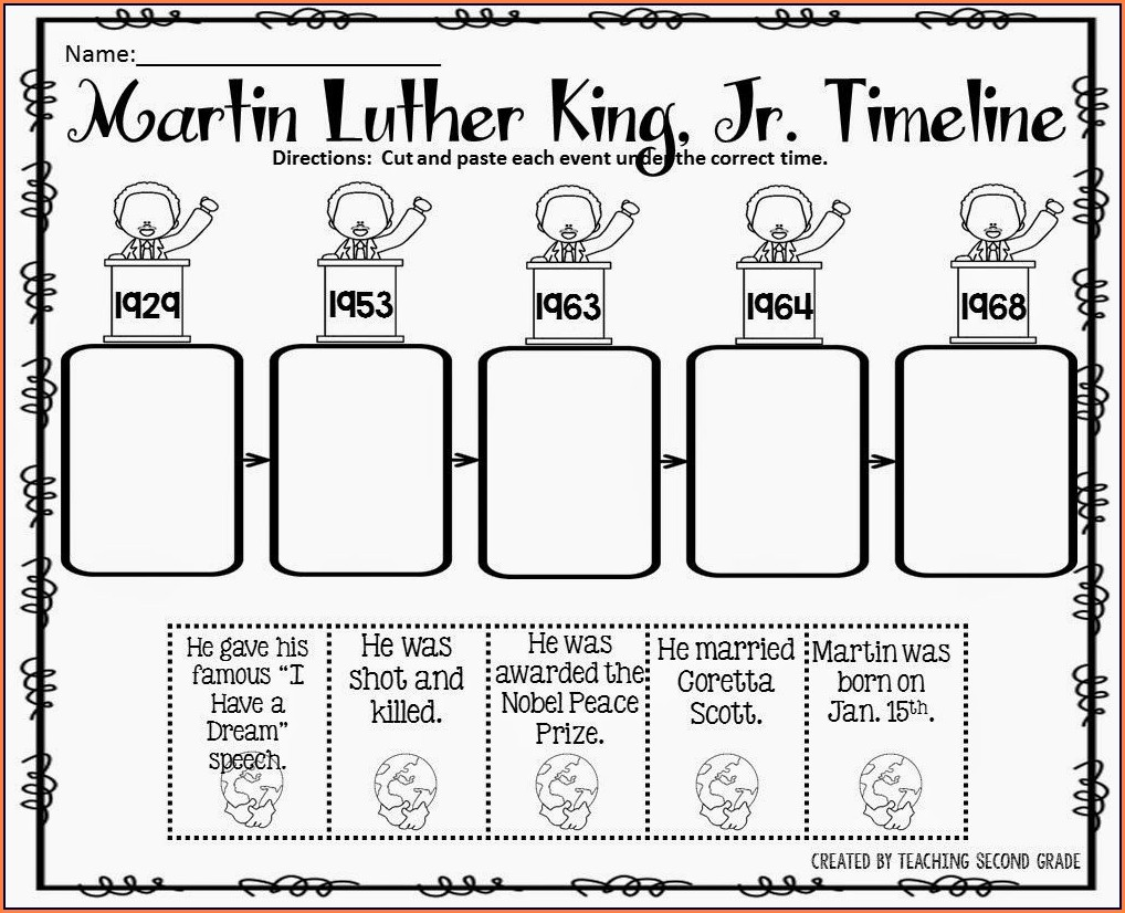 Abraham Lincoln Timeline Worksheet