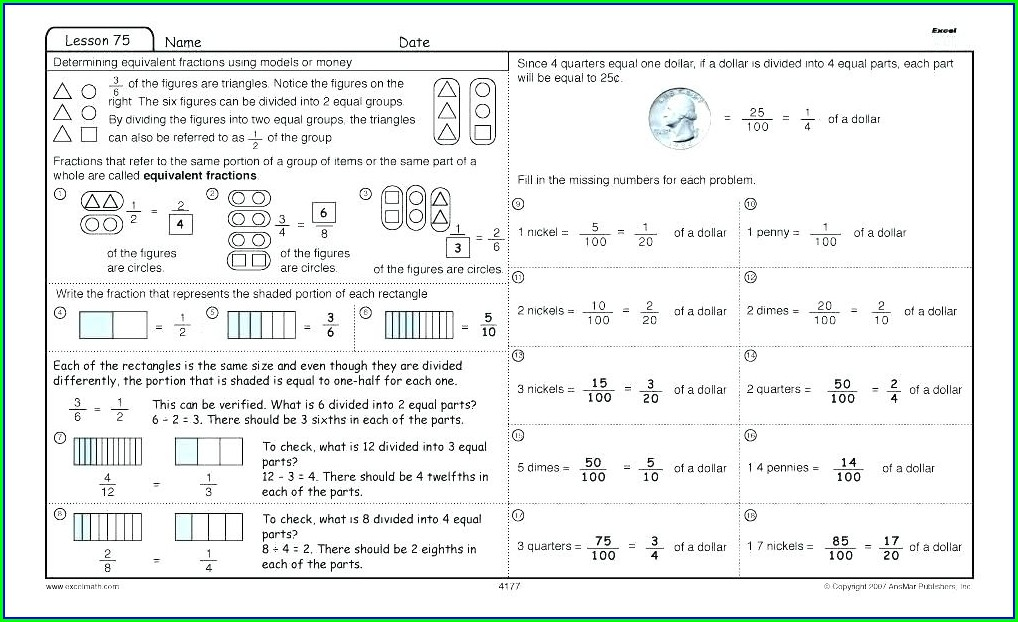 Addition Grade 4 Math Worksheets Pdf