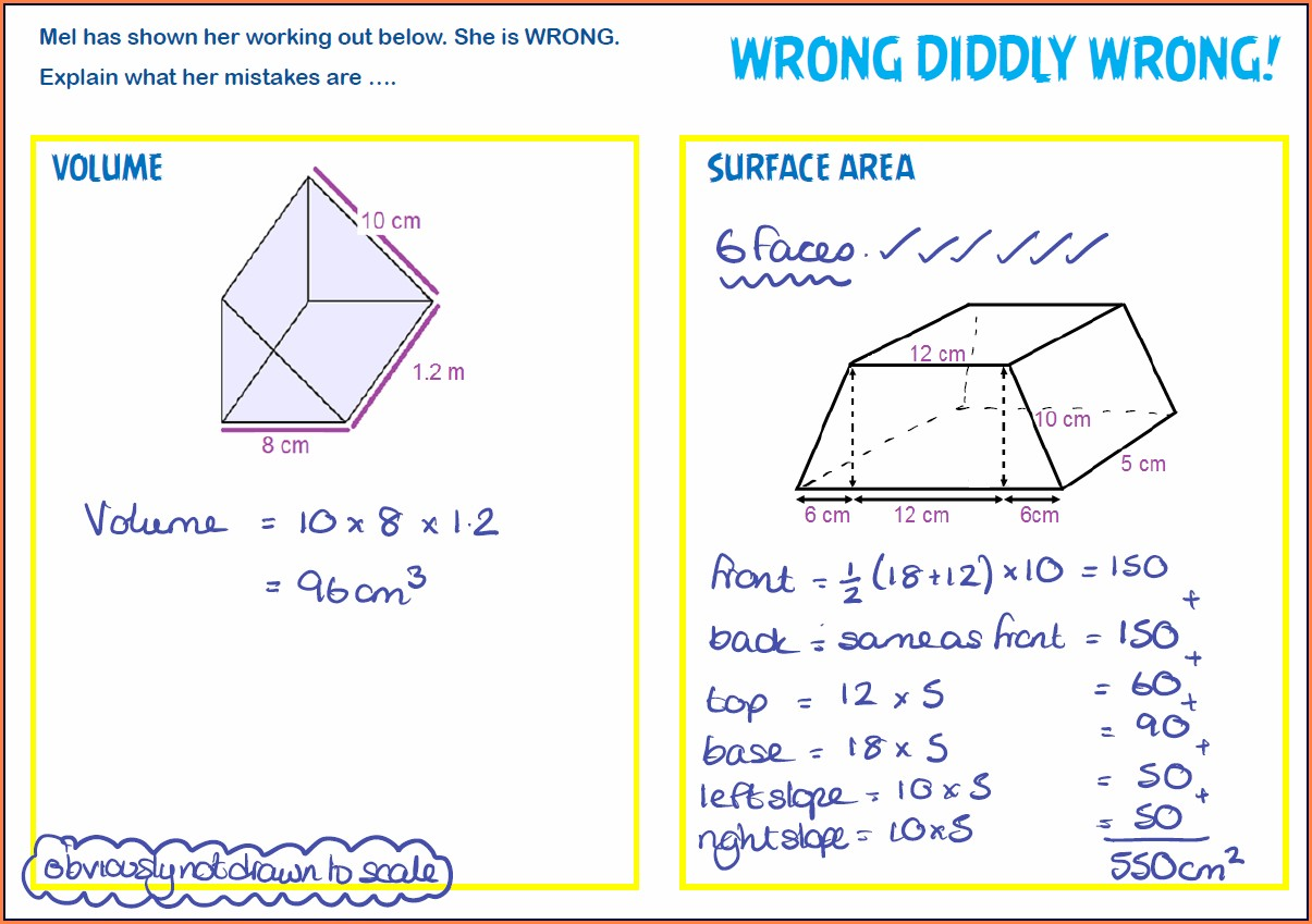 Area Of A Triangle Worksheet Tes