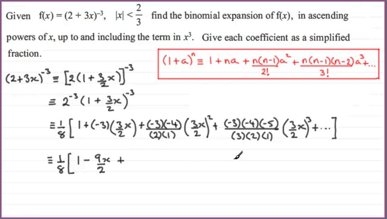 C4 Partial Fractions Worksheet B