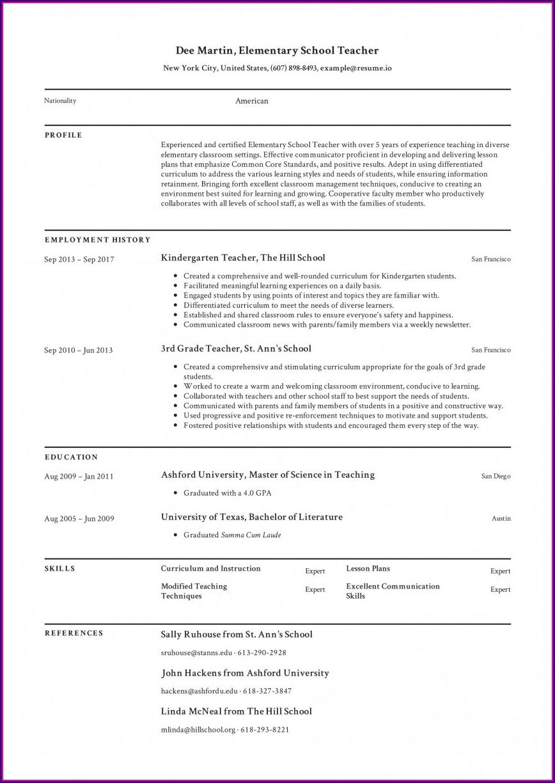 Creating Resume On Microsoft Word
