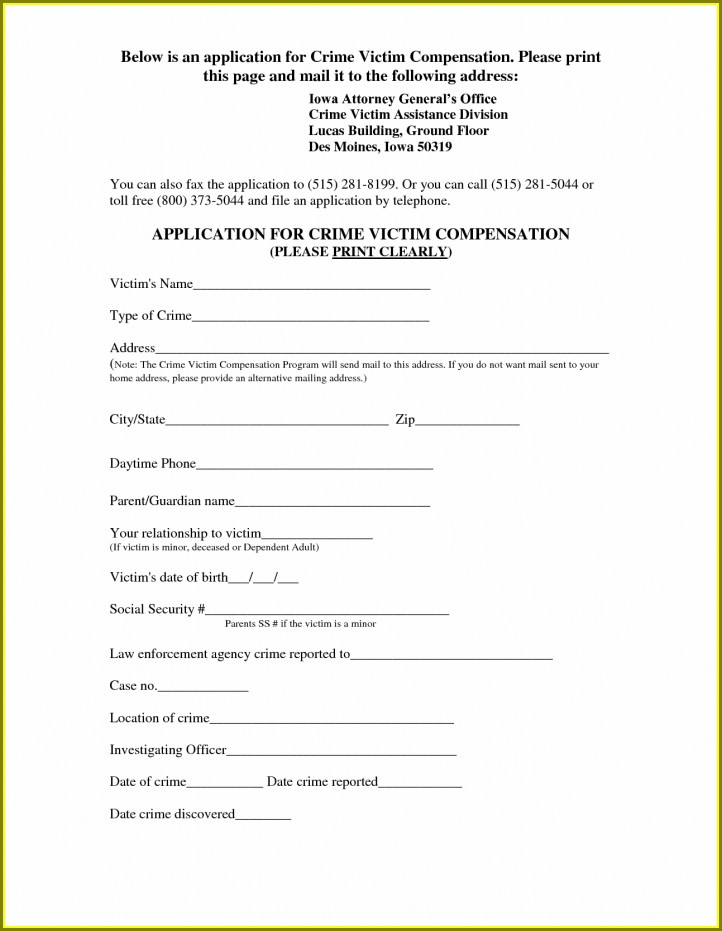 Curriculum Vitae Blank Form Pdf