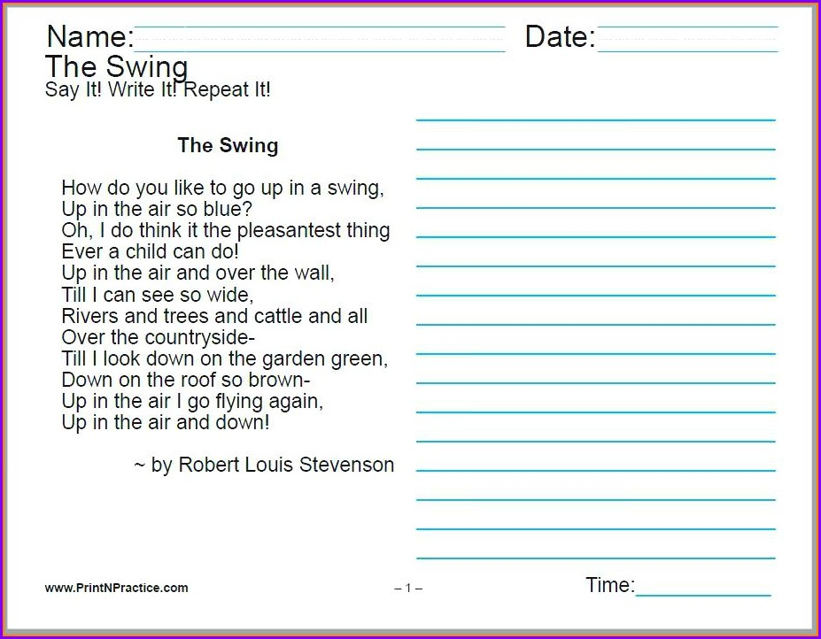 Cursive Handwriting Worksheet Ks2