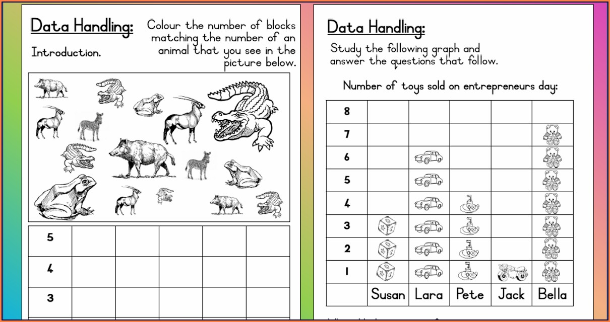 Data Handling Worksheets For Grade 5 Cbse