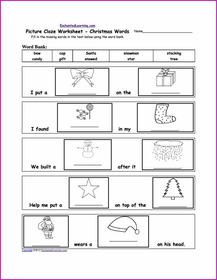 English Printable Worksheets For 2nd Grade