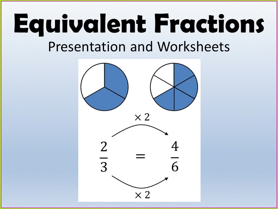 Equivalent Fractions Ks2 Worksheets