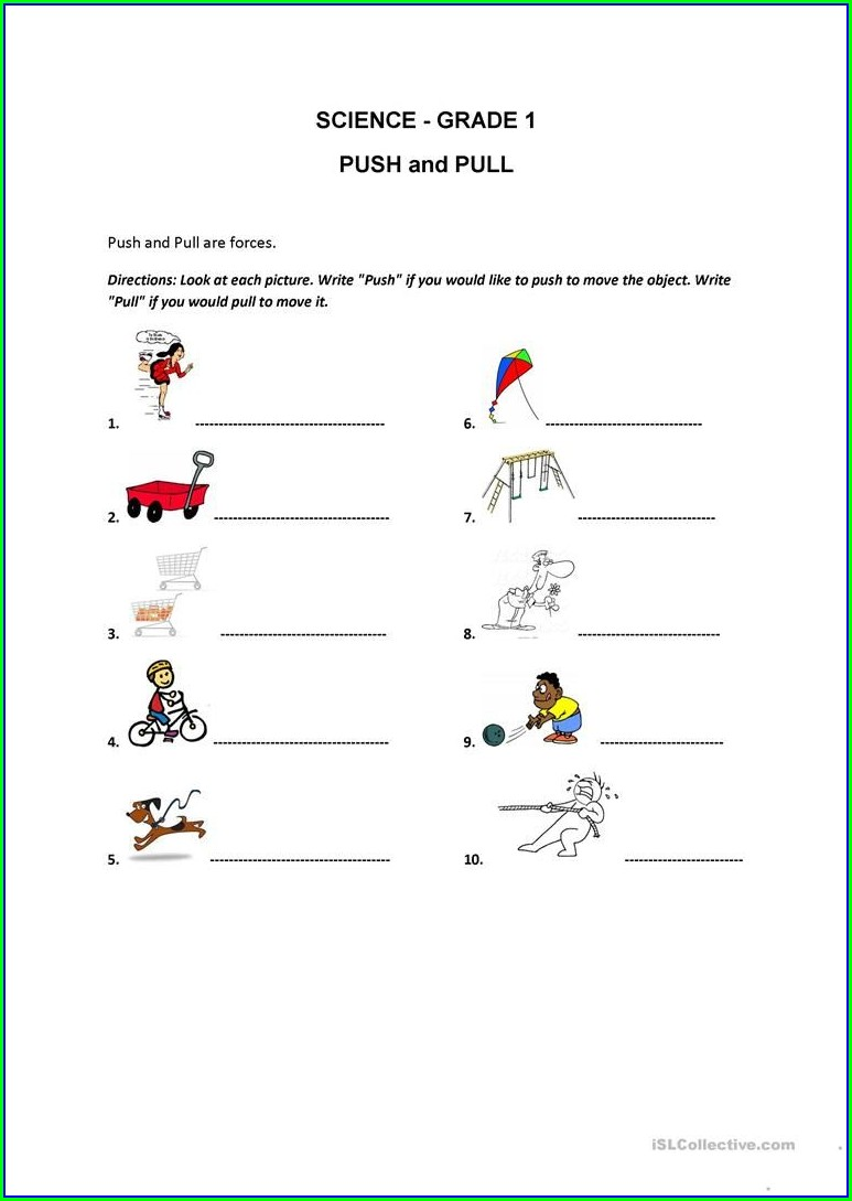 Esl Writing Worksheets Grade 1