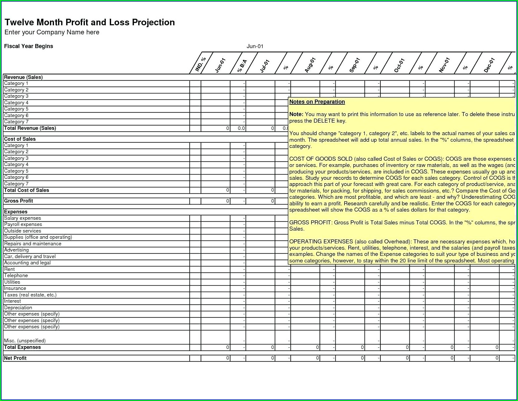 Excel Accounting Worksheet Free Download