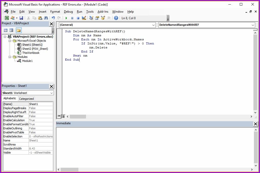 Excel Vba Delete All Data Worksheet