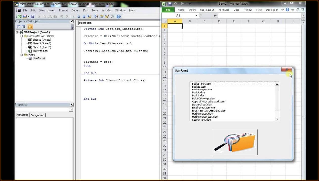 Excel Vba Sort Files In Folder By Name