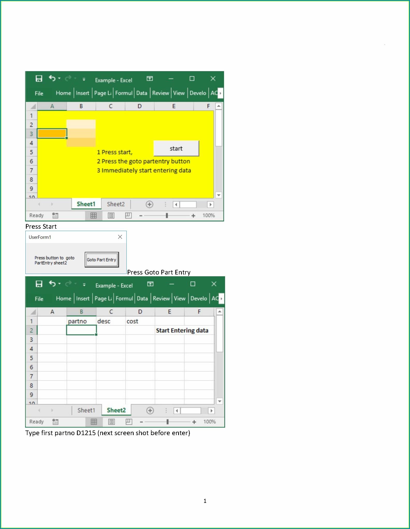 Excel Vba Worksheetpicturesinsert