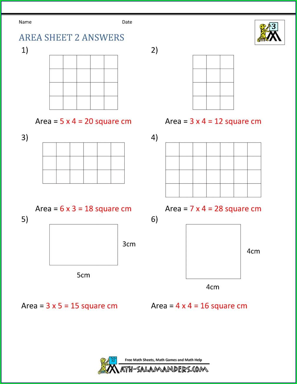 Finding Area Of Irregular Shapes Worksheet Pdf
