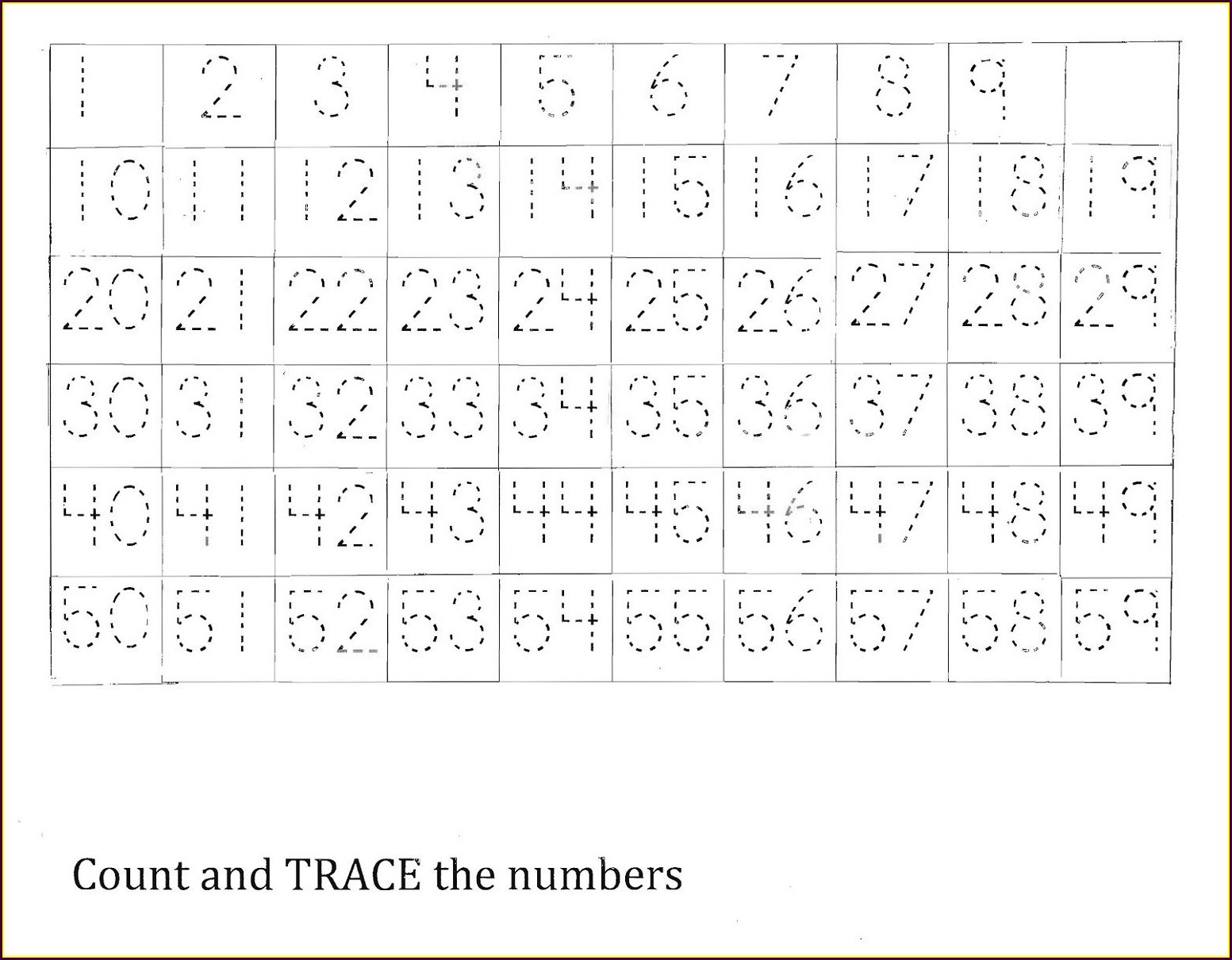 First Grade Open Number Line Worksheets