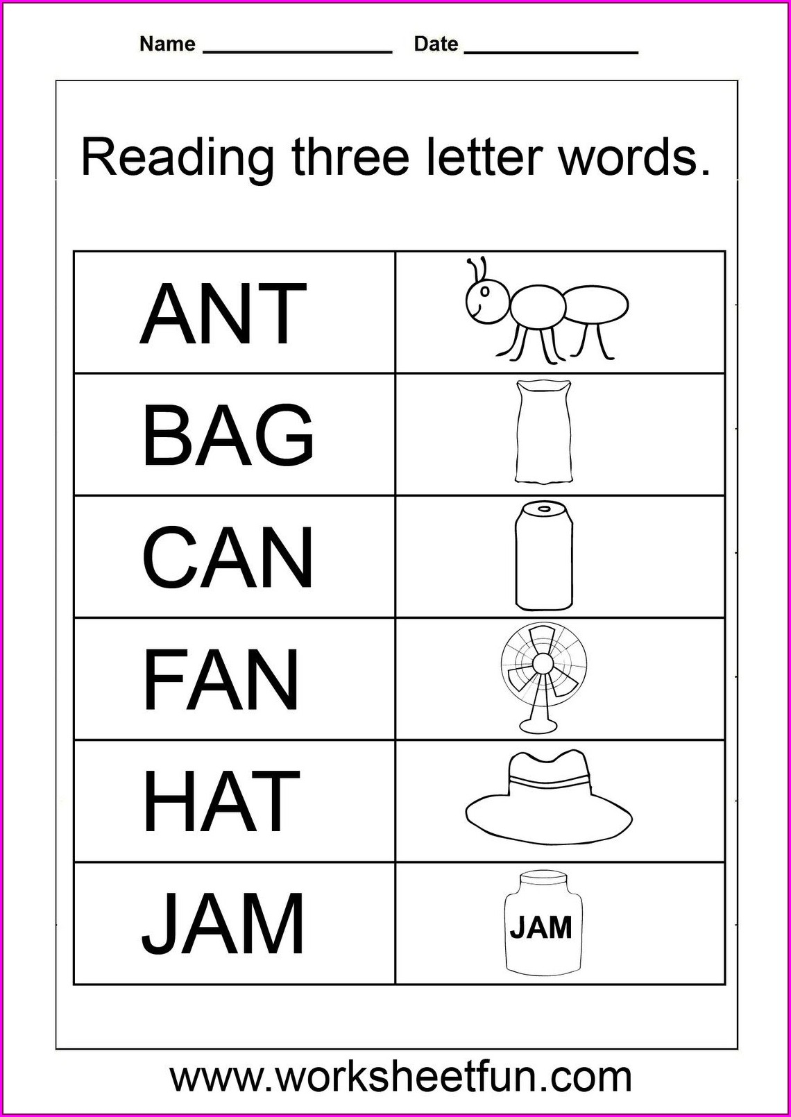 First Grade Spelling Worksheets For Grade 1