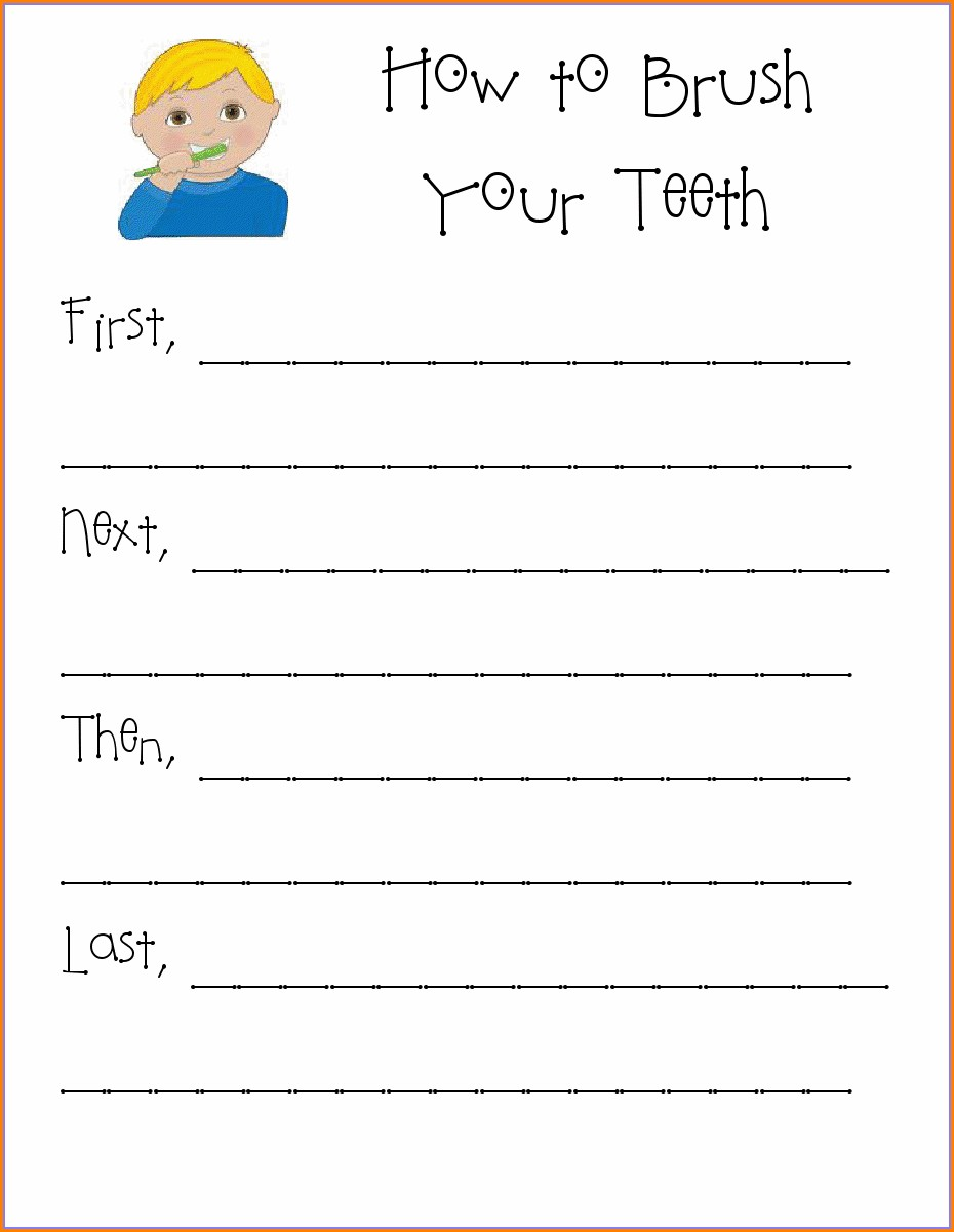 First Grade Teeth Worksheets