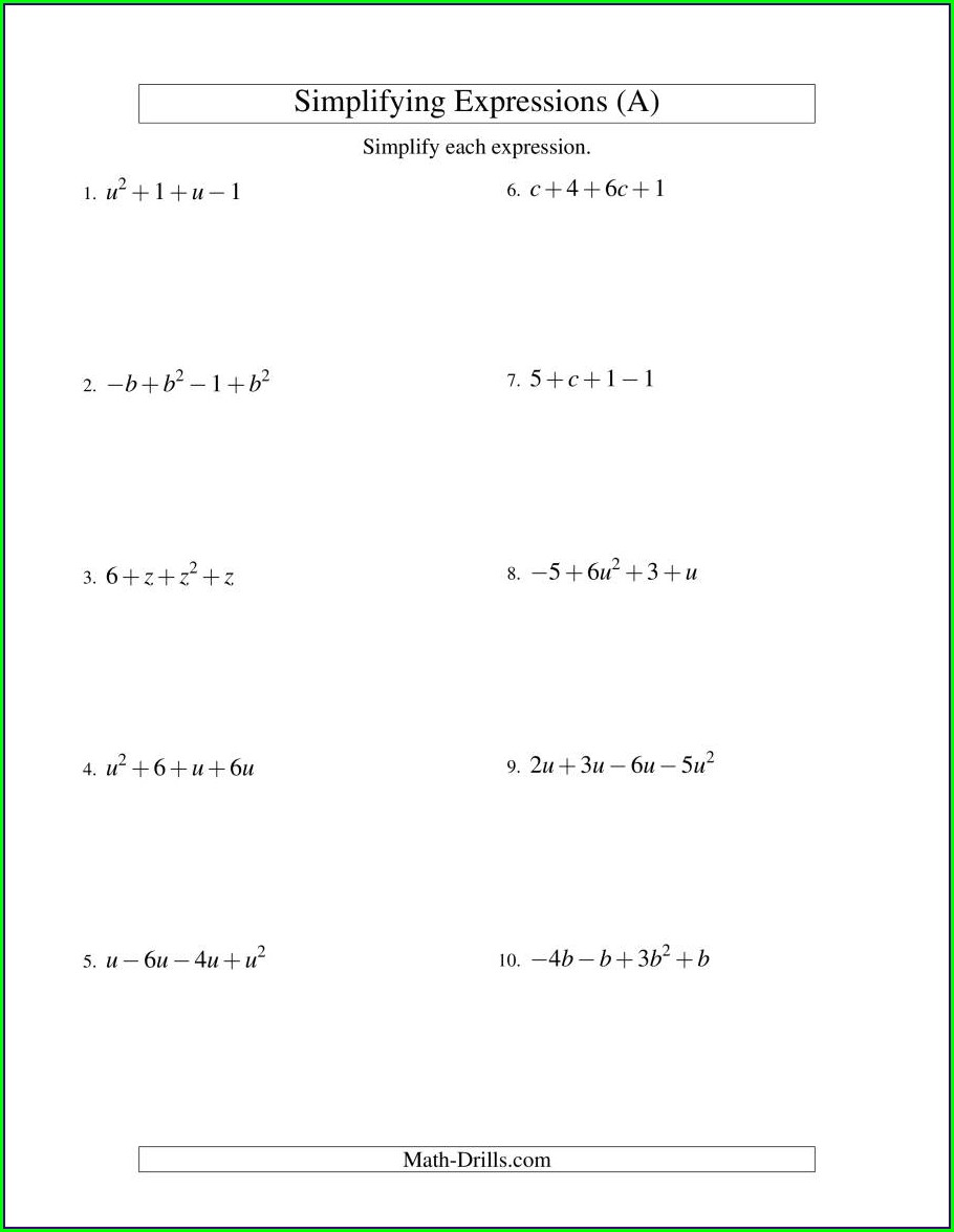 Fractions Worksheet Level 5