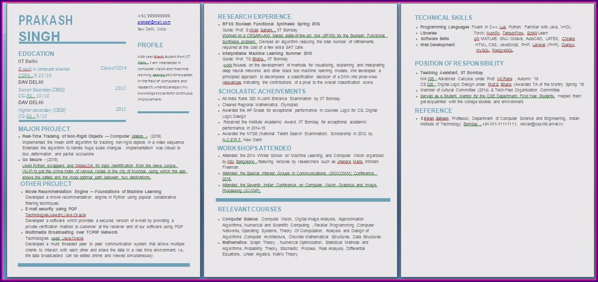 Free Download Fresher Resume Format Download In Ms Word