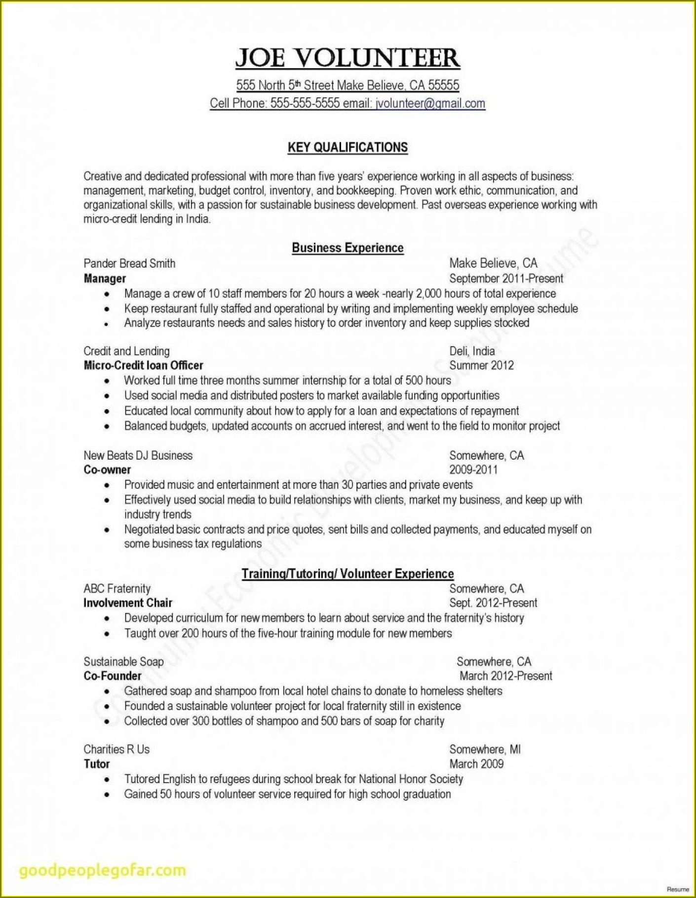 Free Online Resume Templates Australia