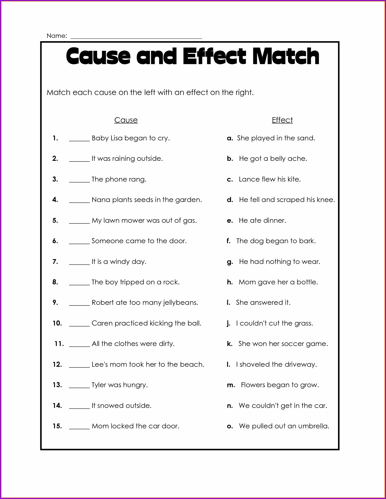 Free Printable 4th Grade History Worksheets