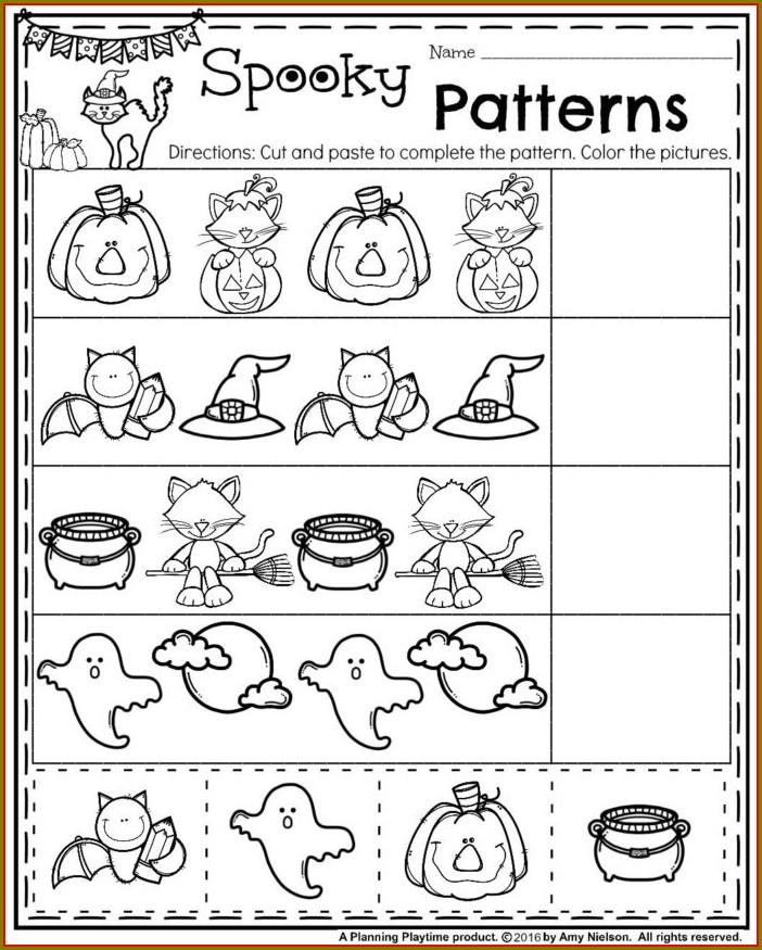 Free Printable Math Pattern Worksheets