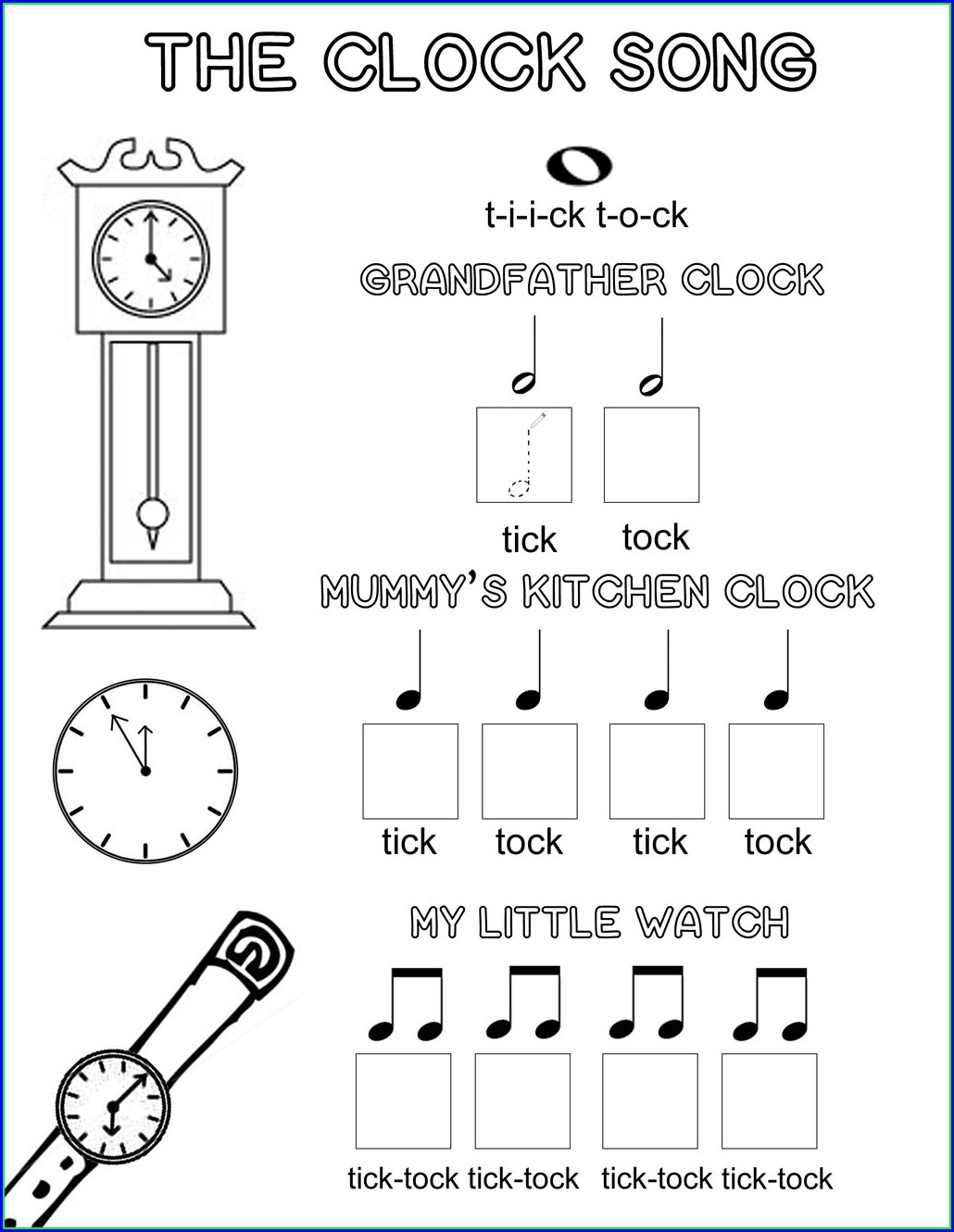 Free Printable Music Note Name Worksheets