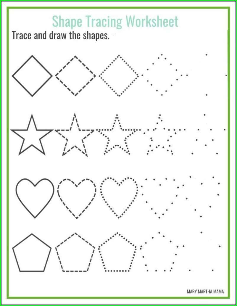 Free Printable Preschool Sight Words Worksheets