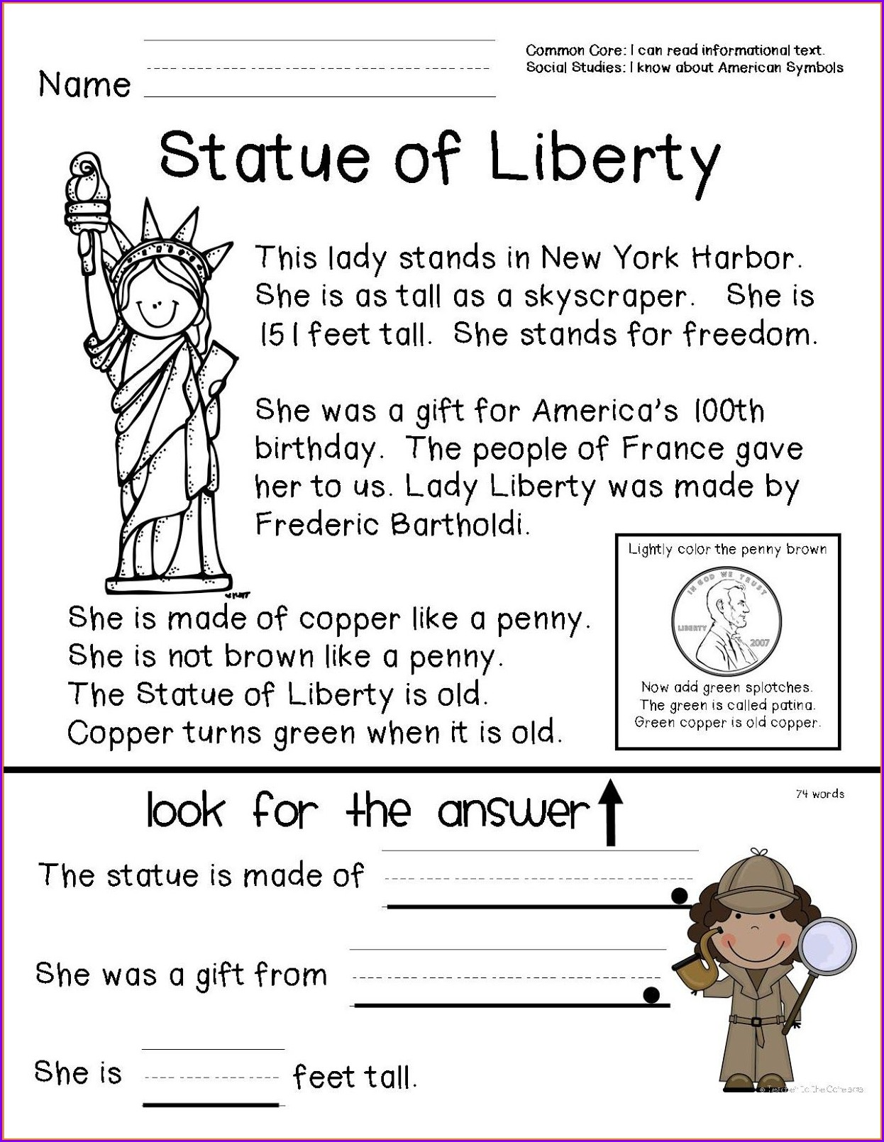 Free Printable Worksheets For Black History Month