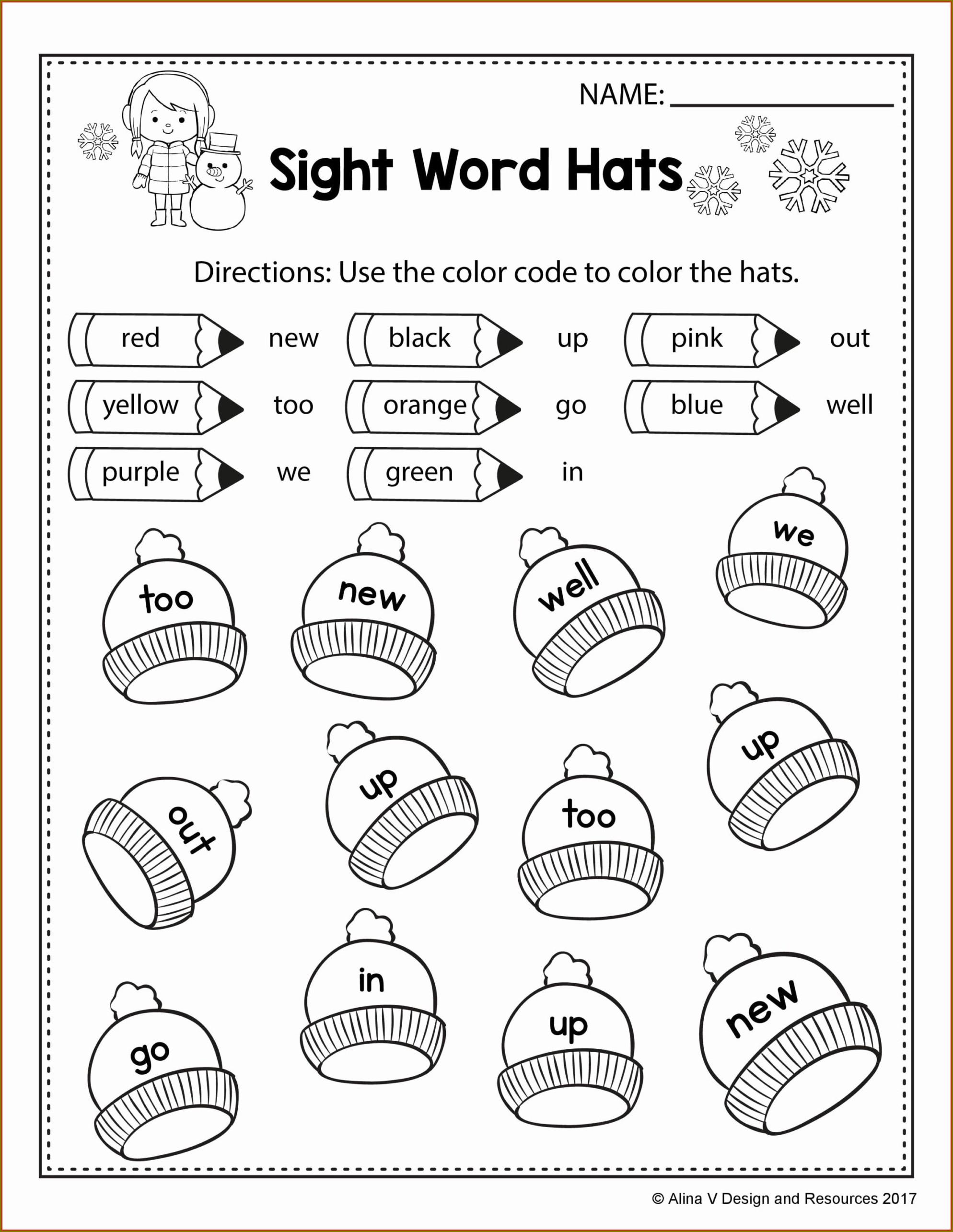 Free Printable Worksheets For Kindergarten Phonics