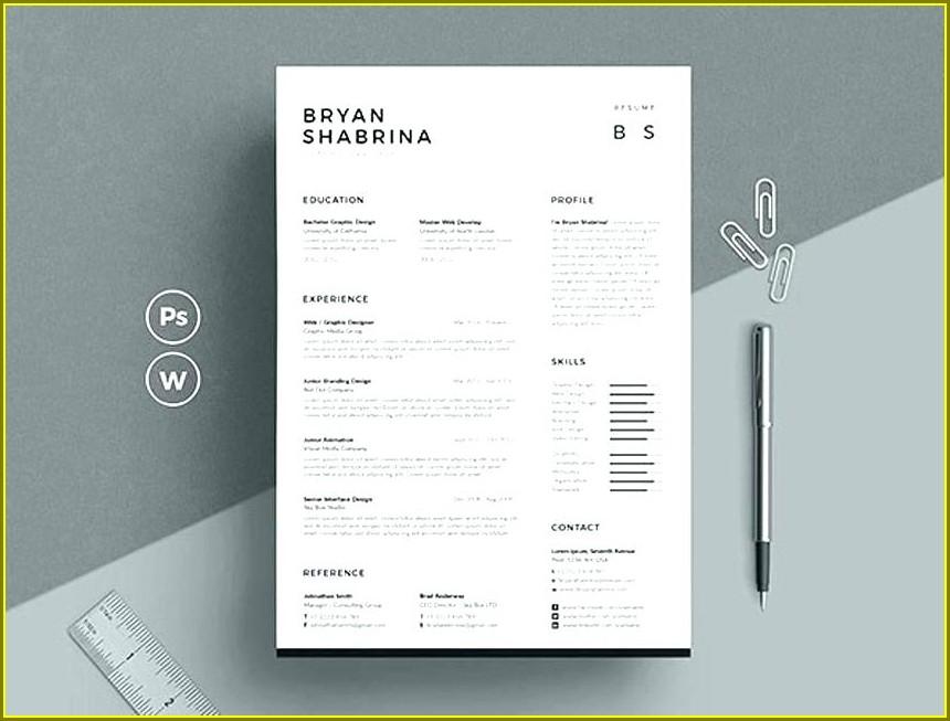 Free Resume Templates Australia 2017
