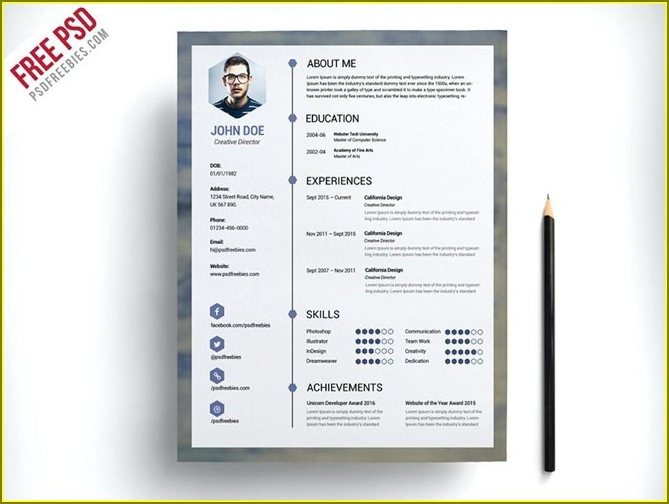 Free Resume Templates Australia 2018