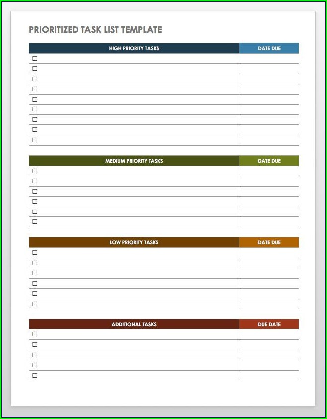 Free Time Management Worksheets For Adults