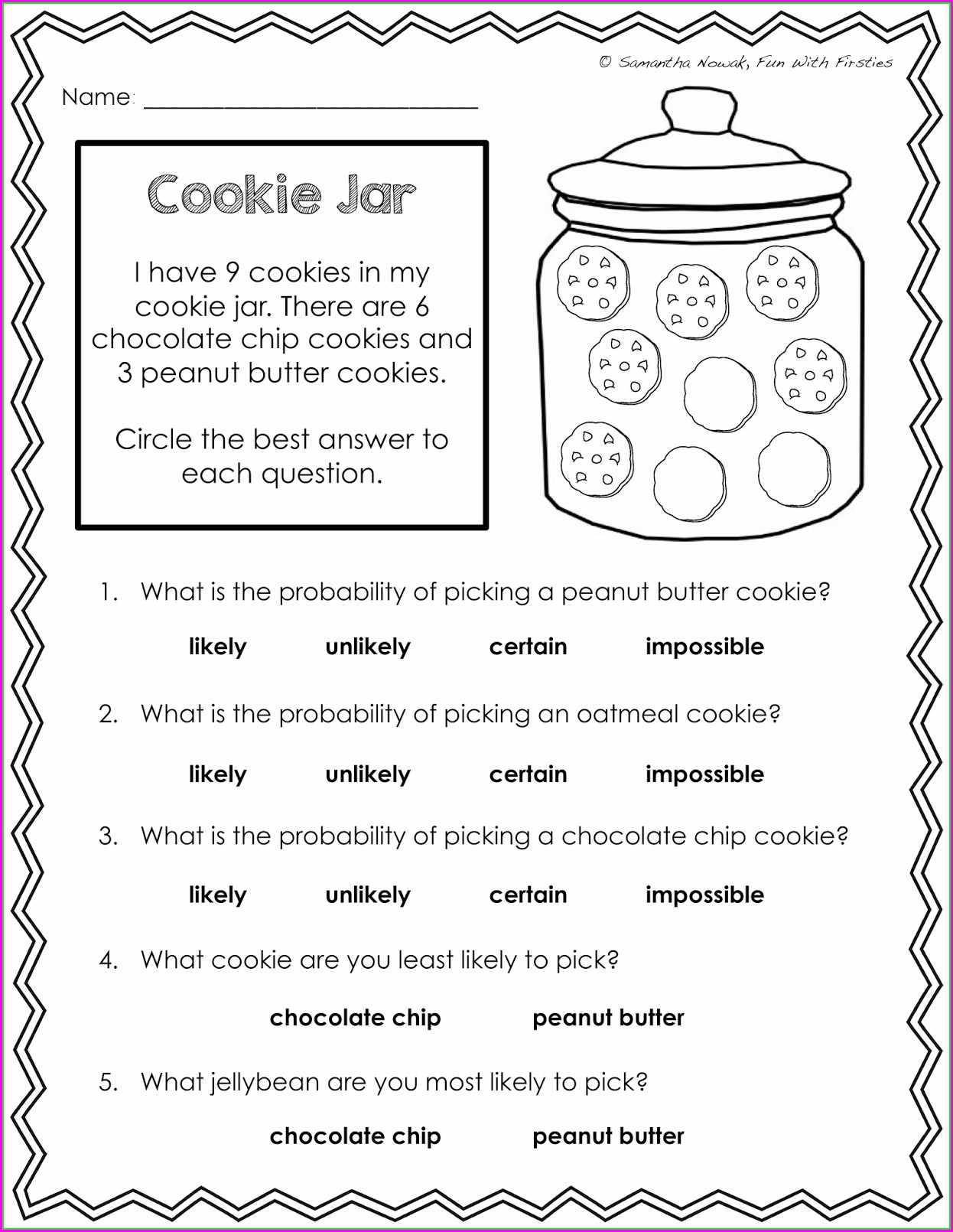 Fun Math Worksheets For Elementary Students